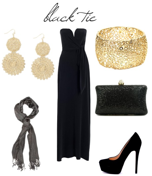 What To Wear To A Spring Wedding Black Tie Event Dresses Black Tie Attire Black Tie Wedding Guests