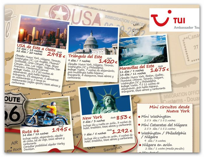 Detalle Diseño Mapa Infografia Agencia De Viajes REVISTA