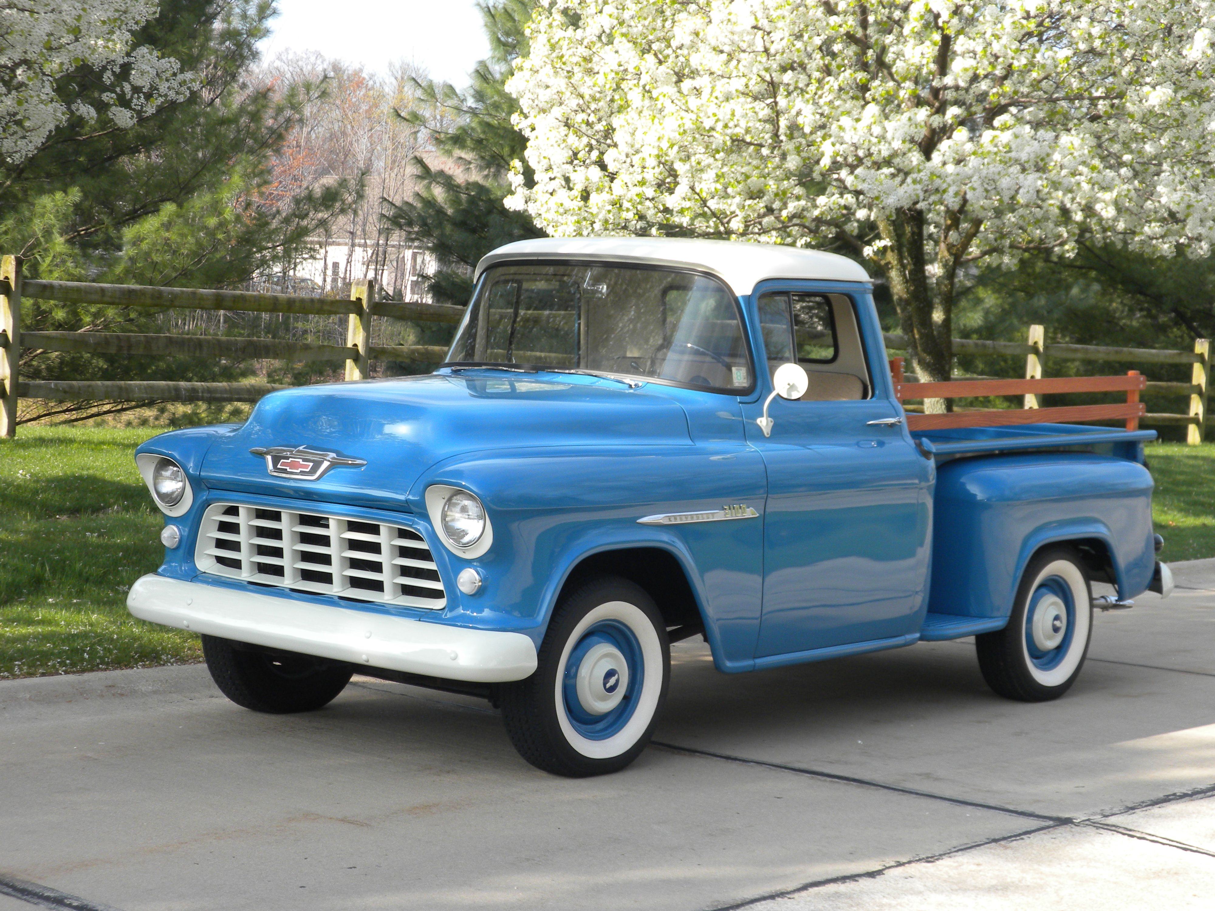 Pin By James Priewe On 555657 Chevy And Gmc Pickups Pinterest 1955 Ford F100 Value 55 Truck Chevrolet Trucks 3100 Classic