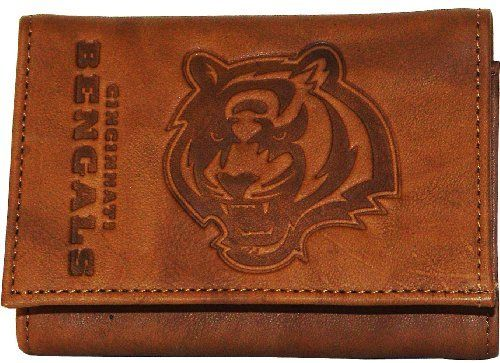 NFL Cincinnati Bengals Leather Wallet by Rico. $24.89. NFL Cincinnati Bengals Leather Wallet