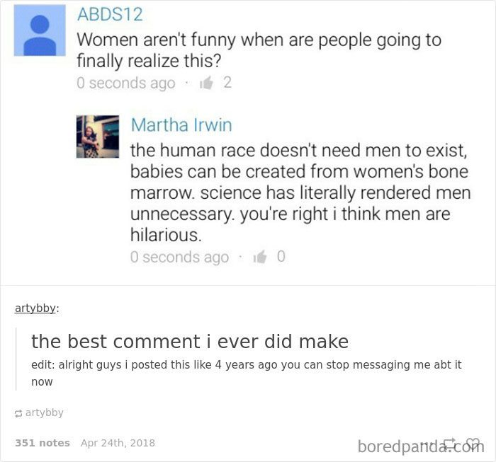 63 Hilarious Tumblr Feminists That Will Make Even The 'Manliest' Men Laugh