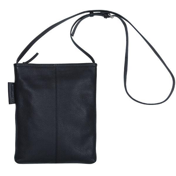 Serkku laukku, musta nahka