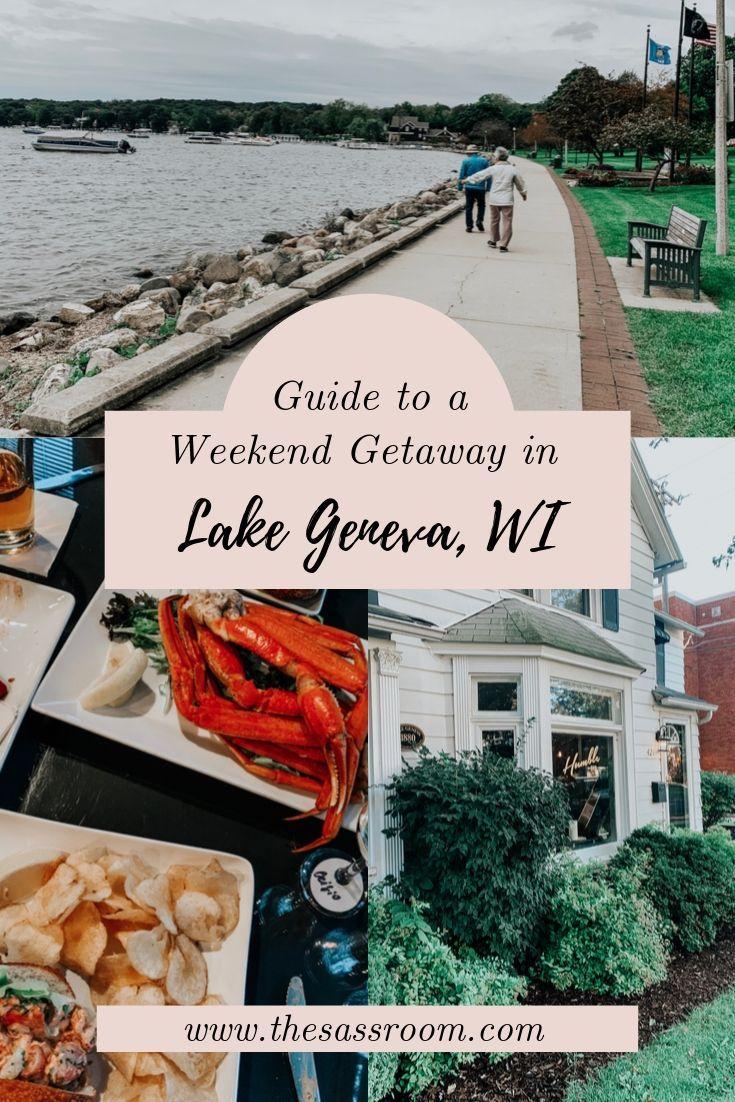 Guide to a Weekend Getaway in Lake Geneva, WI Lake