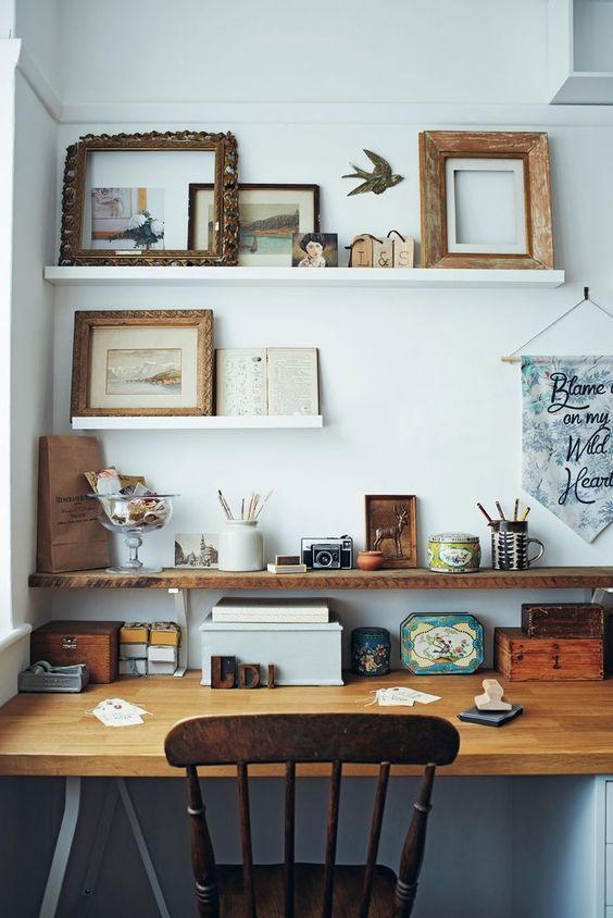 Are you working from home? Do you have a space of your own ...