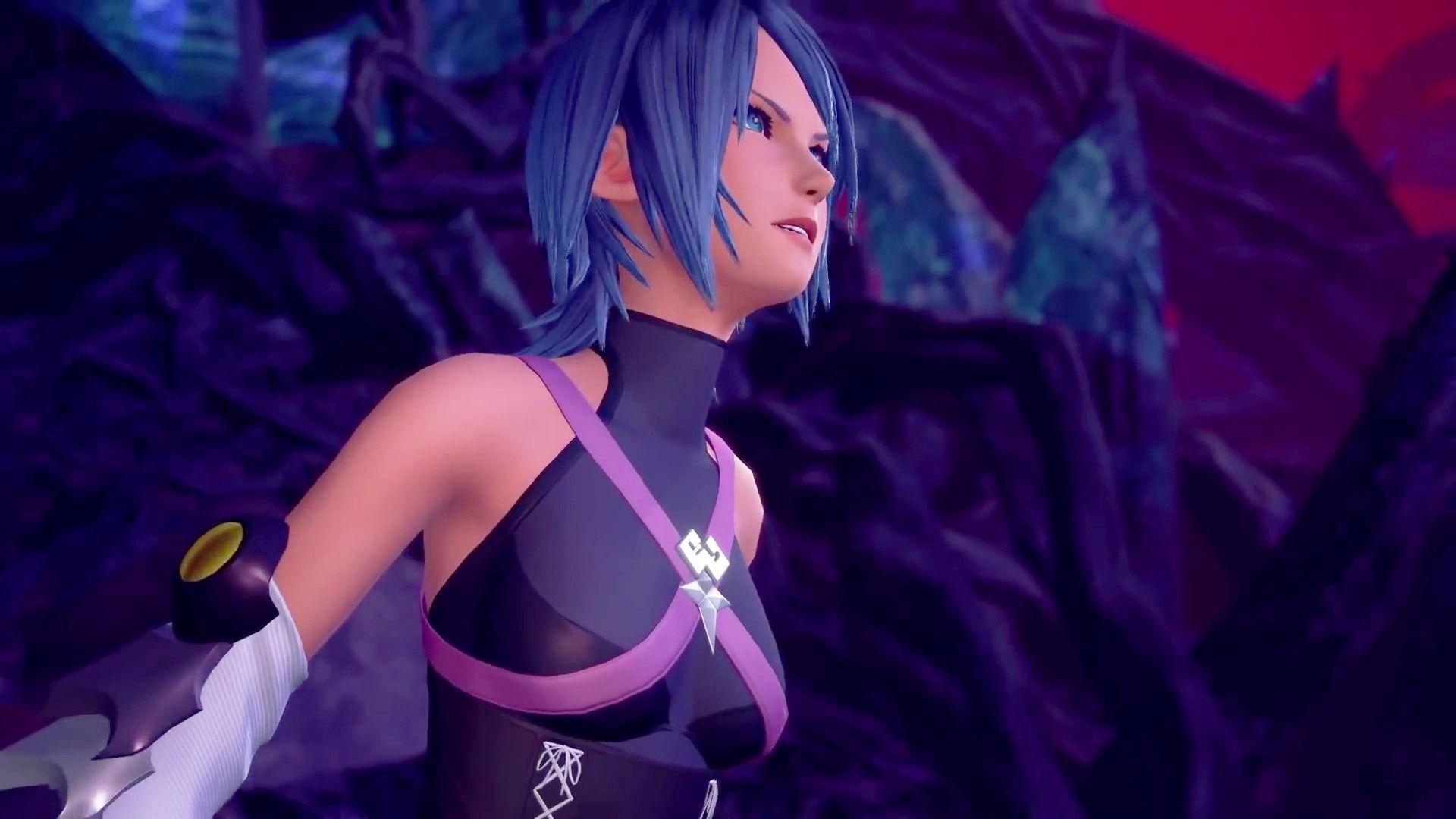 1920x1080 Kingdom Hearts 2 8 Aqua 1 By Vayne1510 Kingdom