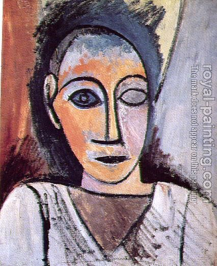 Pablo Picasso - bust of a man