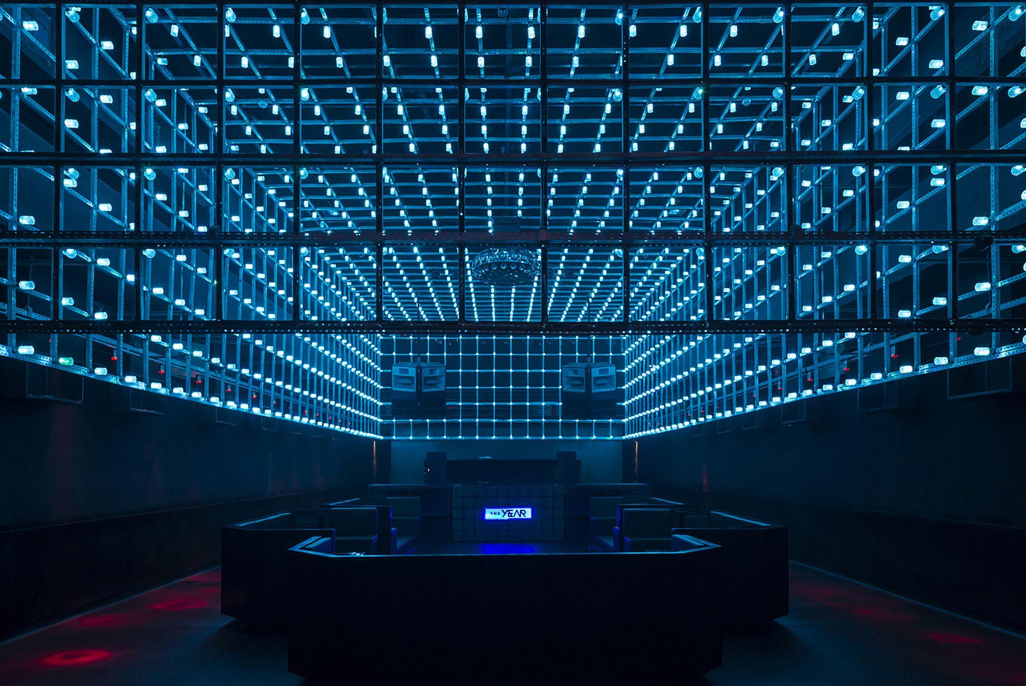 Gallery Of The Year Estudio Guto Requena 14 Nightclub Design Club Design Light Installation
