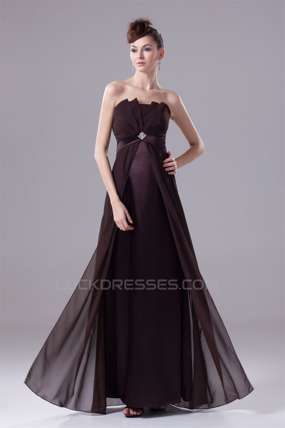 Mothers dresses for a wedding  ALine Satin Chiffon Beading Sleeveless Mother of the Bride Dresses