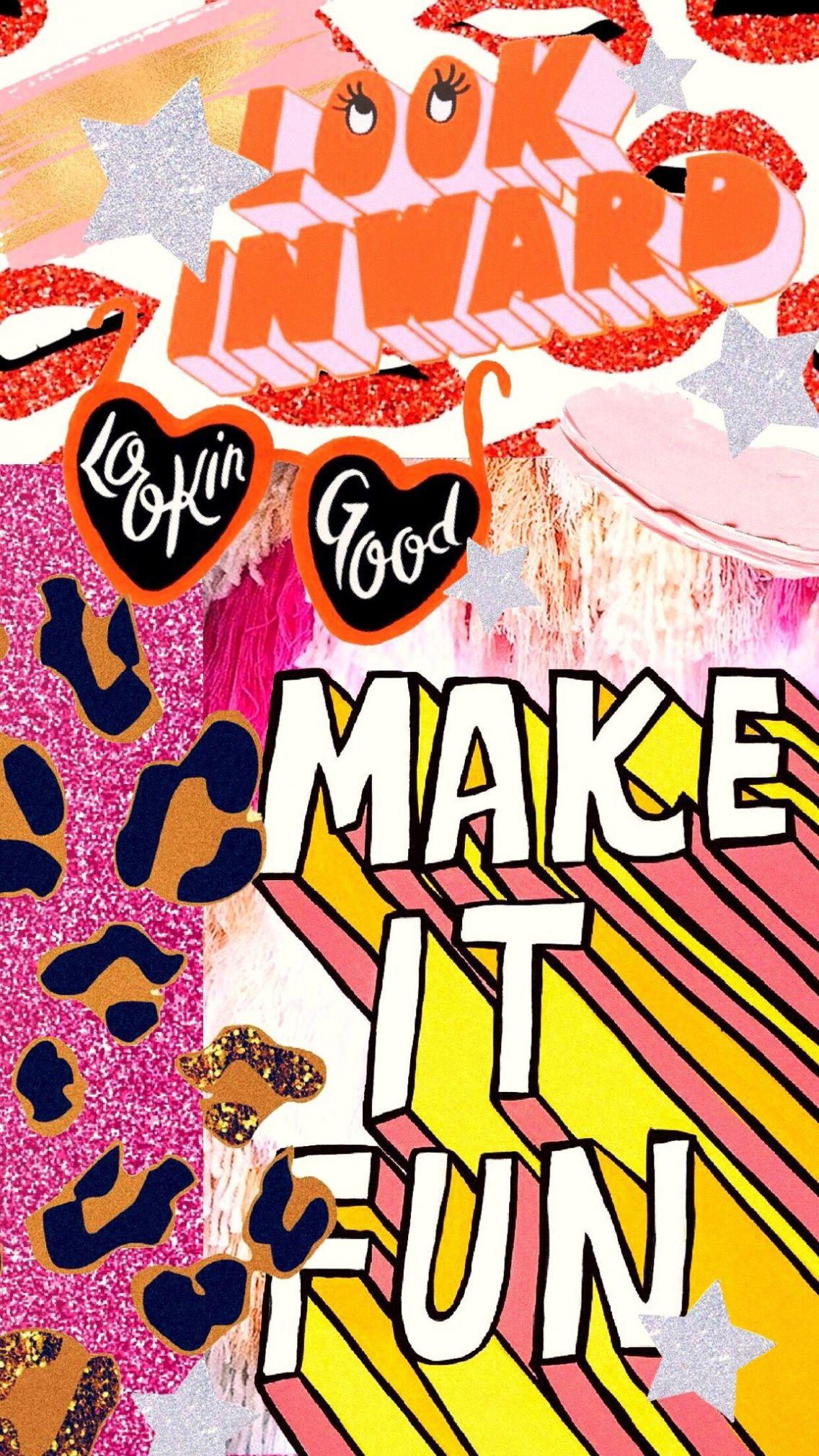Morgrweber Vsco Artsy Background Pop Art Wallpaper Art Collage Wall