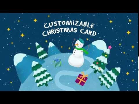 Christmas Card After Effects Template Youtube Christmas Cards Cards Christmas