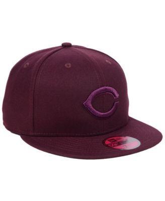 4049f3b58 New Era Cincinnati Reds Fall Prism Pack 59FIFTY-fitted Cap - Red 7 3 ...