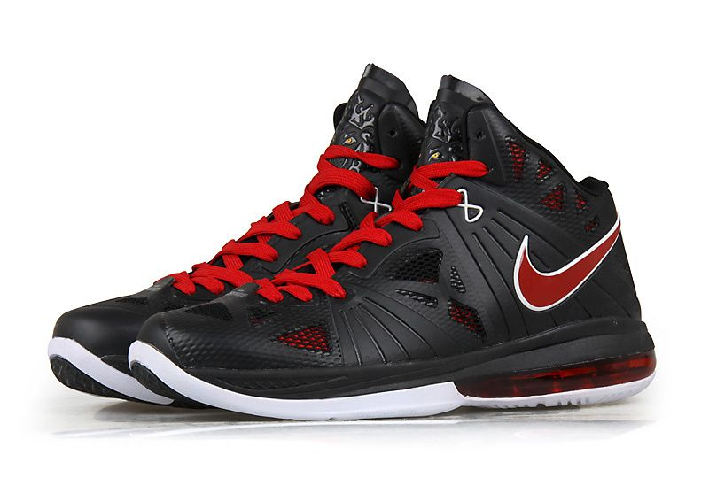1ad6665d488eb1 Nike Air Max LeBron 8 PS Shoes Black Red
