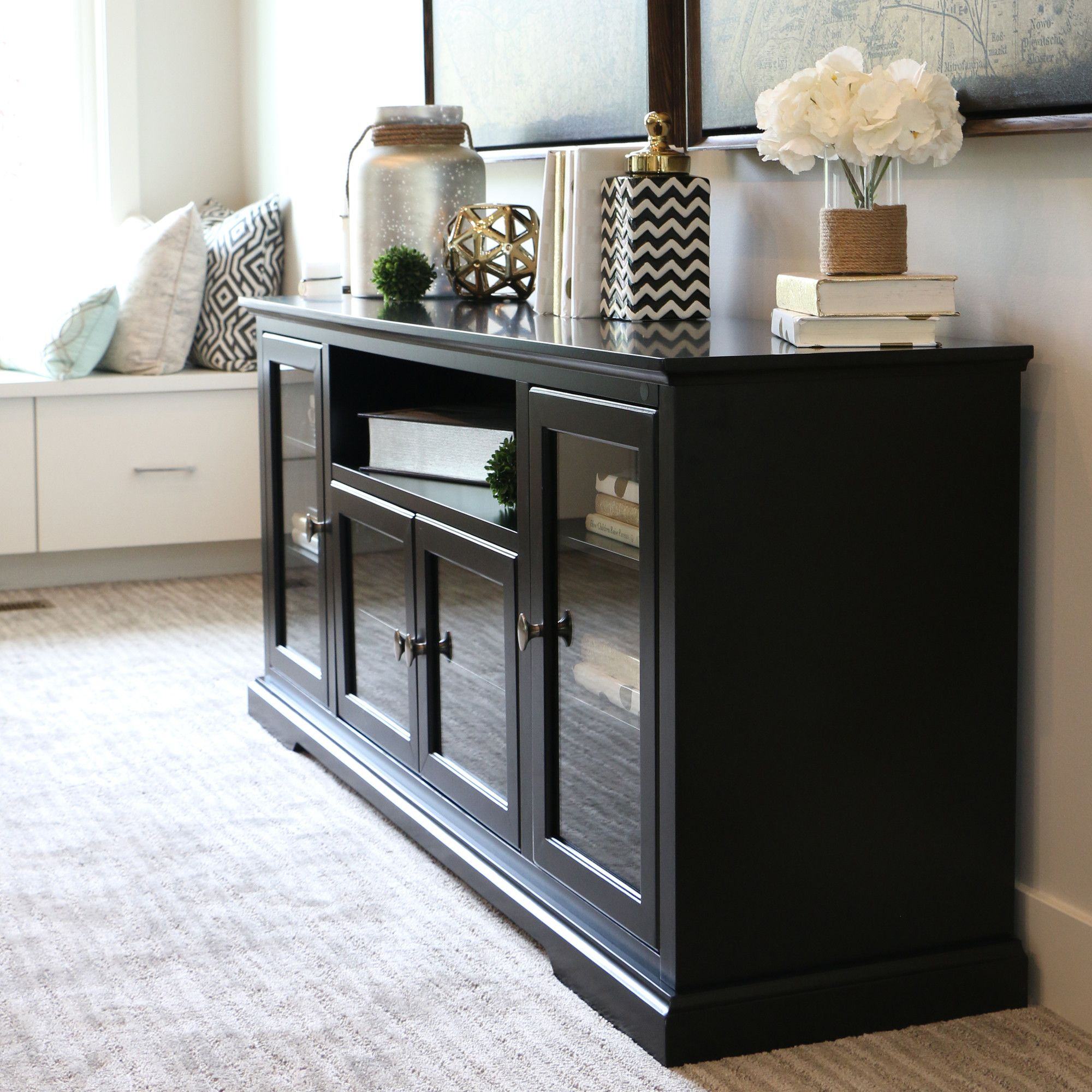 Hokku Designs Highboy TV Stand