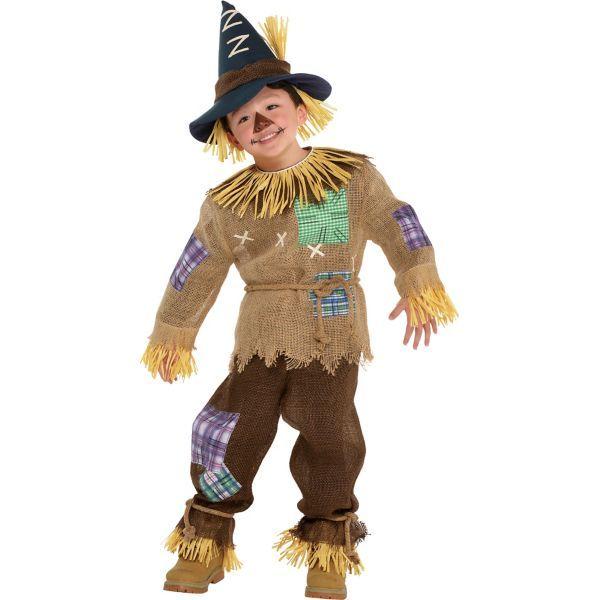 Toddler Boys Friendly Scarecrow Costume - Size - 3-4T #scarecrowcostumediy