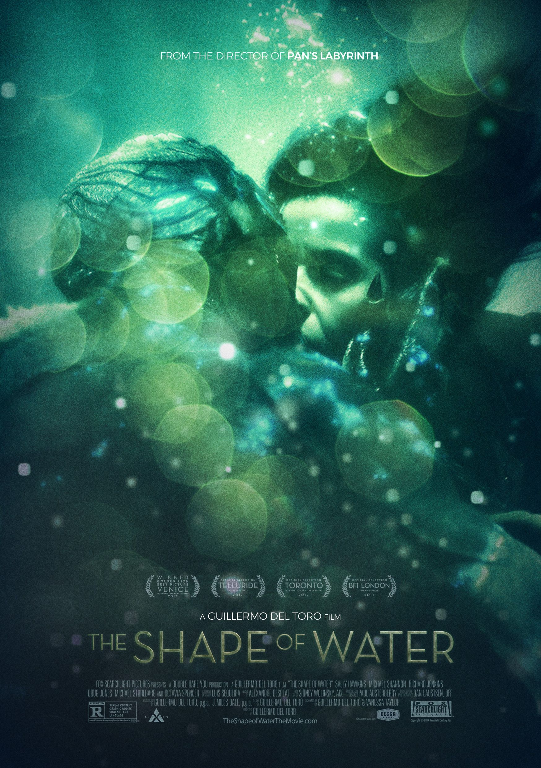 The Shape Of Water Poster By Alecxps The Shape Of Water Water Poster Romantic Films