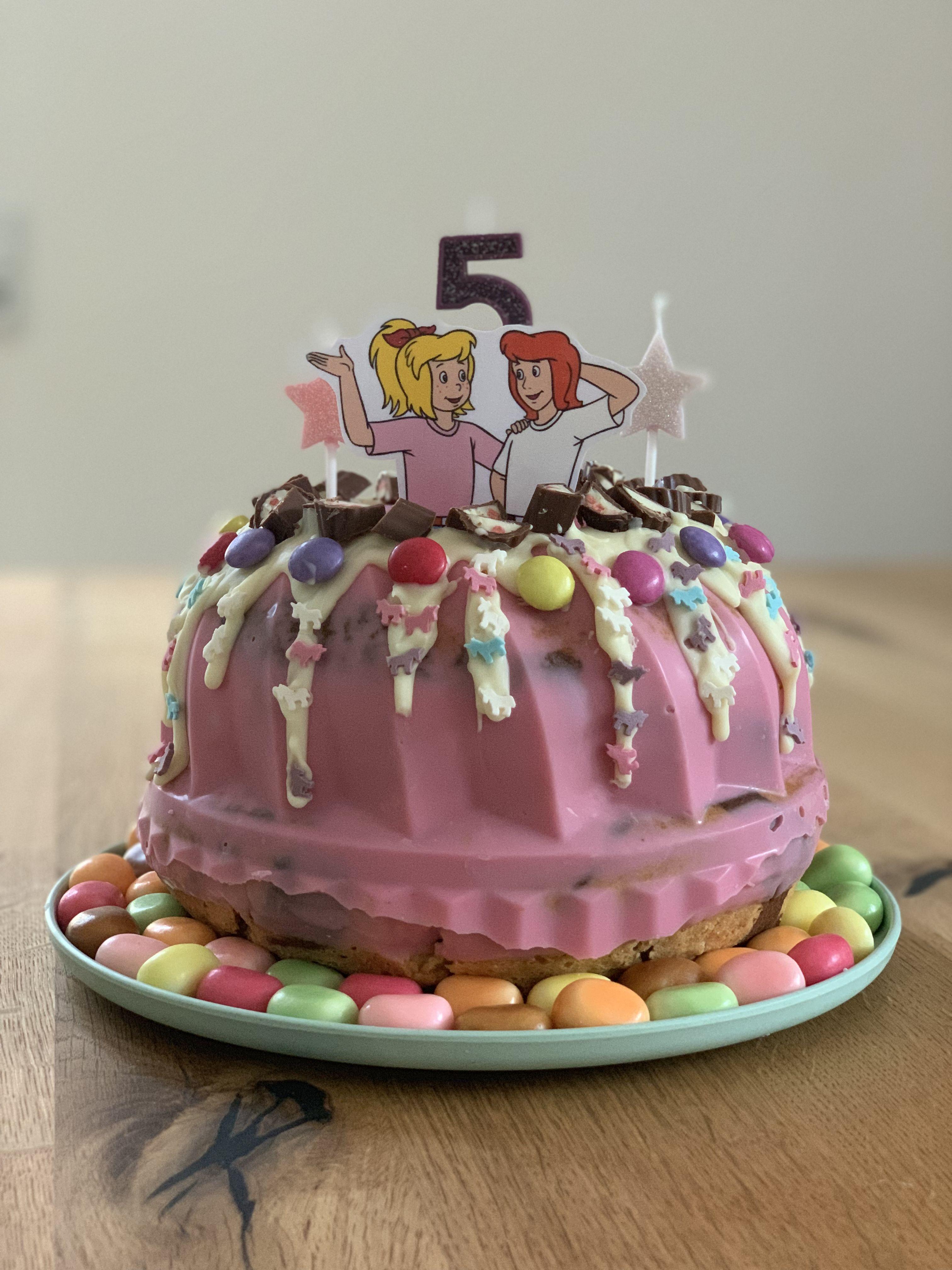 Kindergeburtstag Bibiundtinakuchen Candycake Torte Kindergeburtstag Bibi Und Tina Torte Einfacher Nachtisch