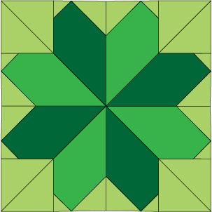 Lucky Clover - Free Ireland Quilt Block of the Month Pattern ... : clover quilting - Adamdwight.com