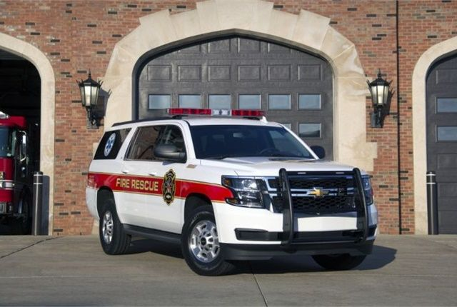 Chevrolet Expands Suburban 3500hd For Police Fire Chevy