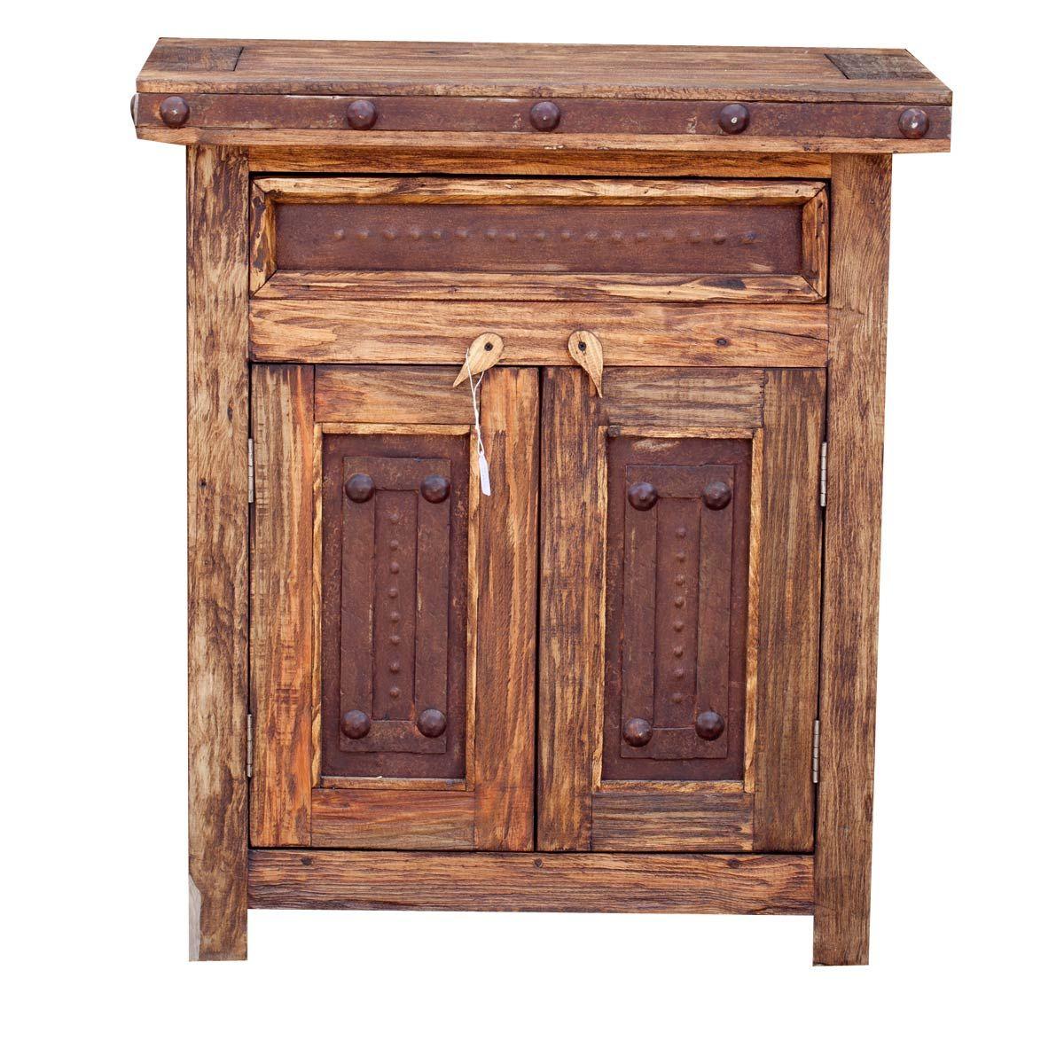 Cobre Mexican Vanity | Reclaimed Wood Furniture | Texas Rustic Furniture |  Mexican Furniture