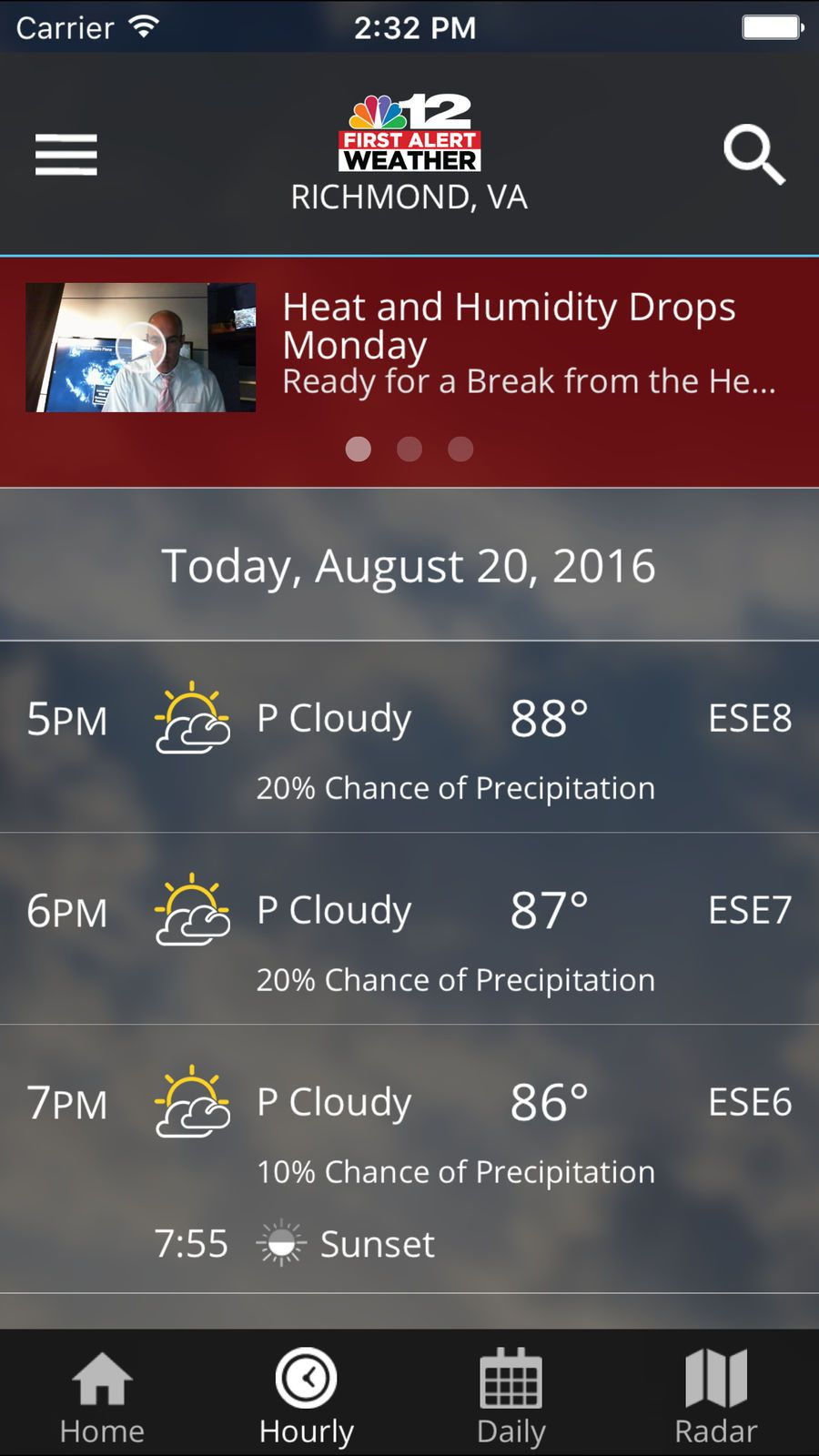 NBC12 First Alert Weather NewsMediaappsios Ios apps