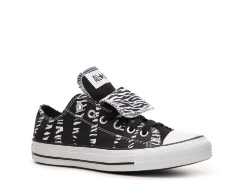 Converse Women S Double Tongue Zebra Print Sneaker Wish