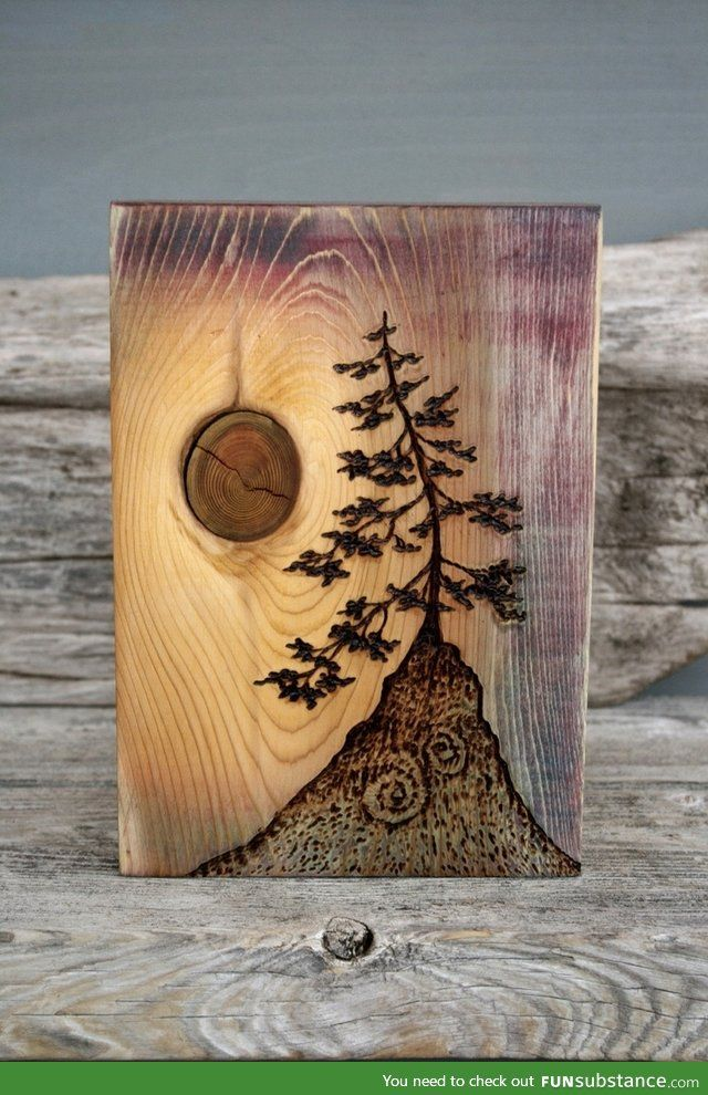 Thought you might enjoy this amazing tree cool - Wandschmuck holz ...