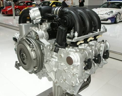 porsche boxster двигатель