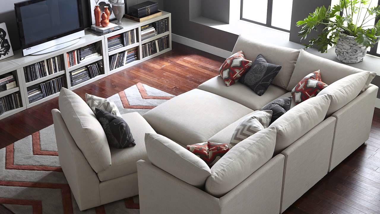 Beckham Modular Sectional By Bassett Modular Sectional Sofa