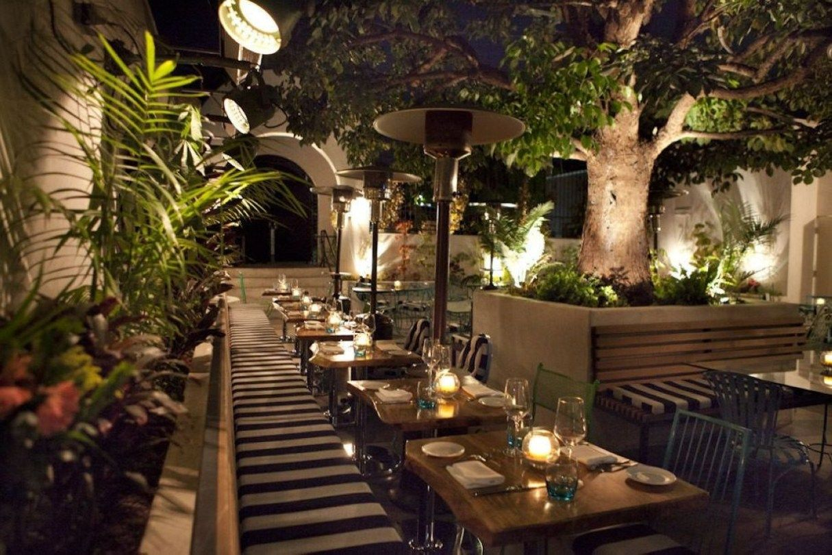 Terrace With Decoration Light You Must Try In Your House 37 Restaurant Patio Outdoor Restaurant Outdoor Restaurant Patio