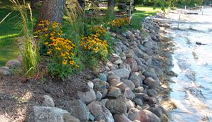 How to install rip rap correctly lakescaping pinterest how to install rip rap correctly lakescaping pinterest lakes landscaping and retaining walls solutioingenieria Choice Image