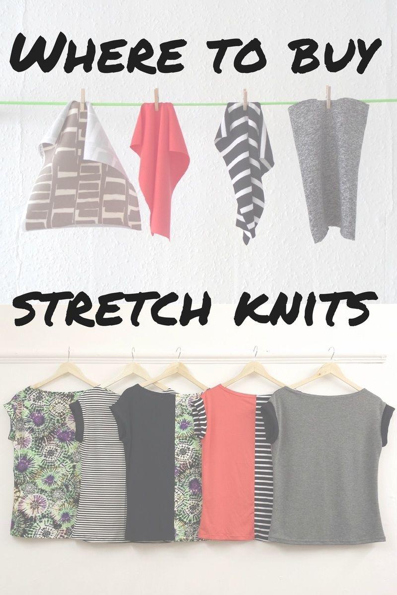 Where To Stretch Knit Fabrics