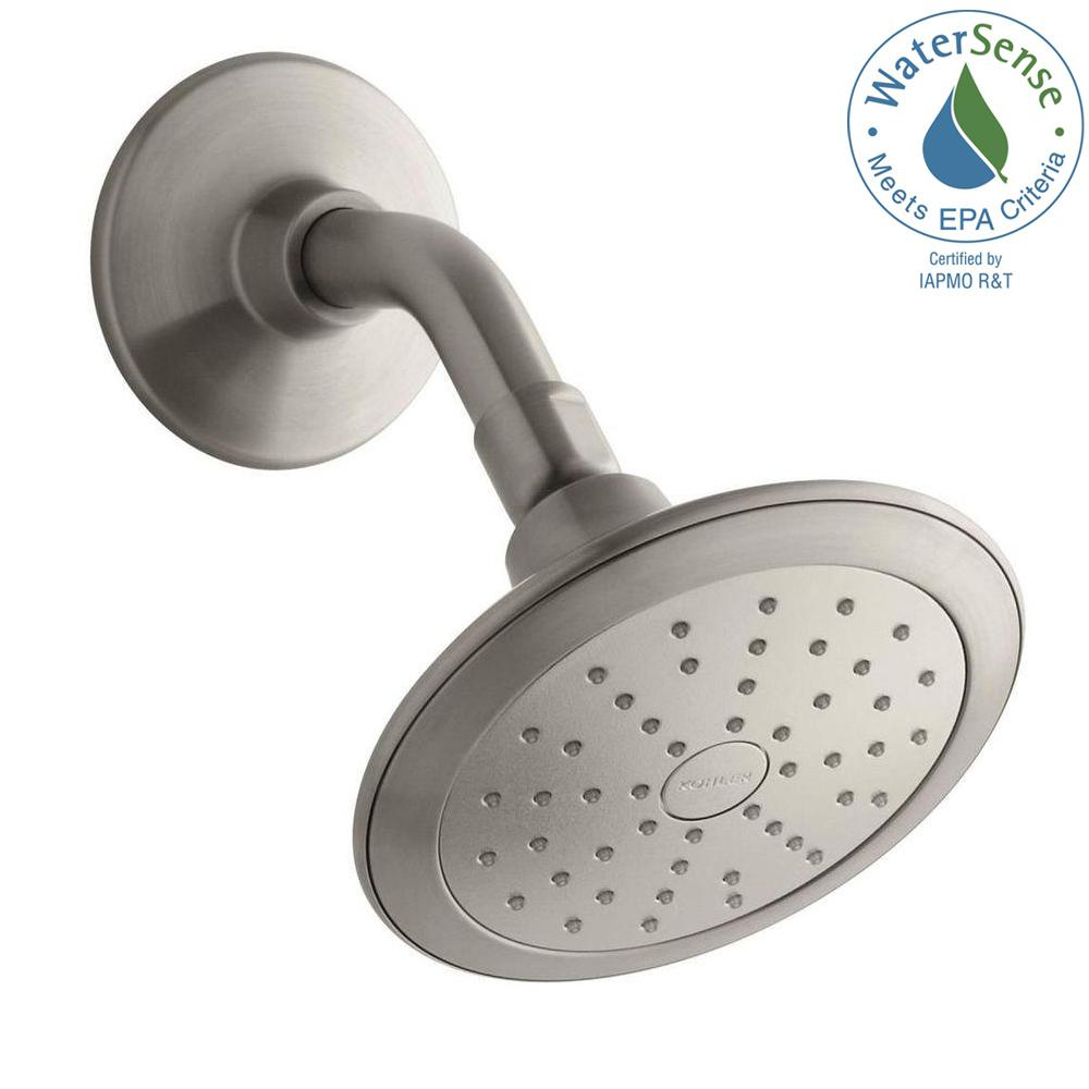 Kohler Alteo 1 Spray 5 7 In Single Wall Mount Fixed Shower Head