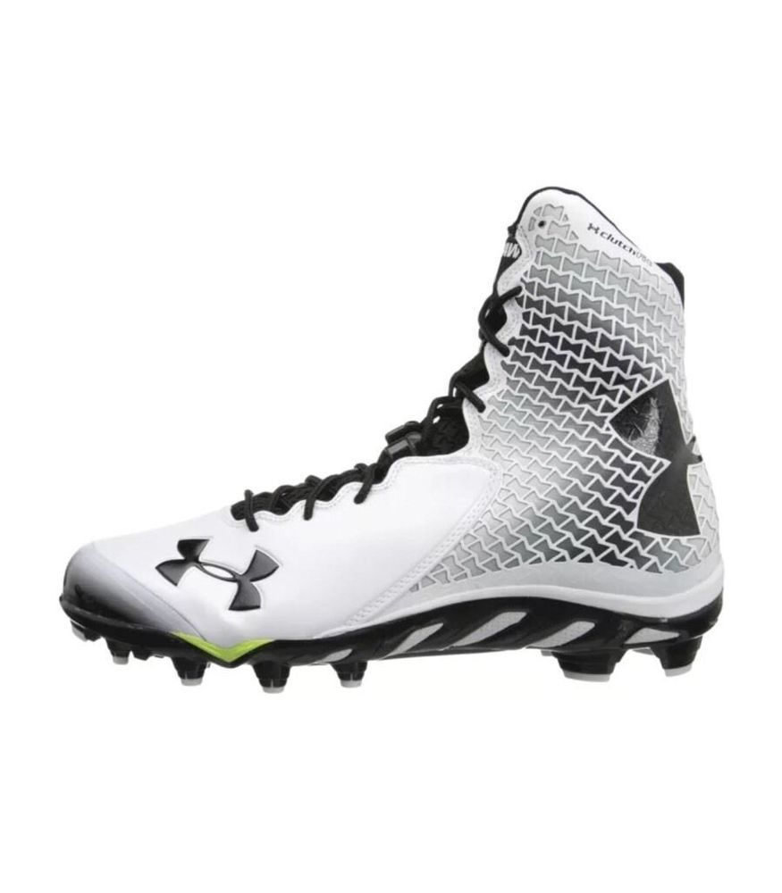 Buy Under Armour Spine Brawler Mid MC Football Cleats Size White UA at online  store
