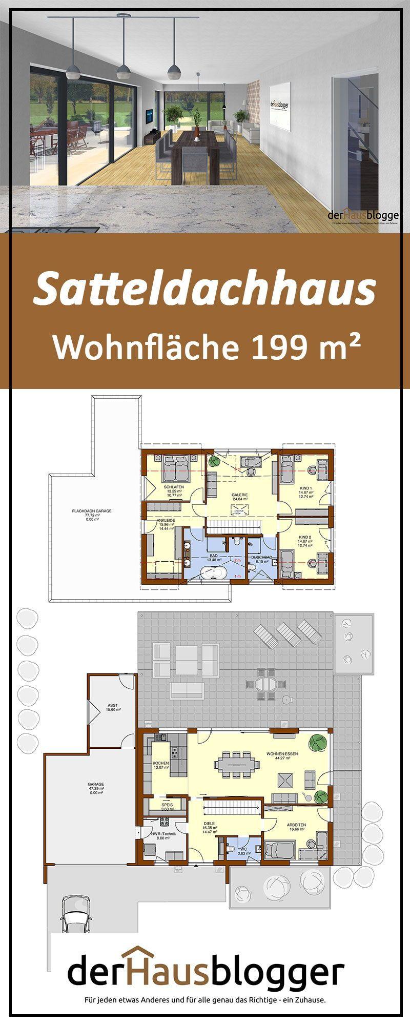Photo of Satteldachhaus 199m² | derHausblogger