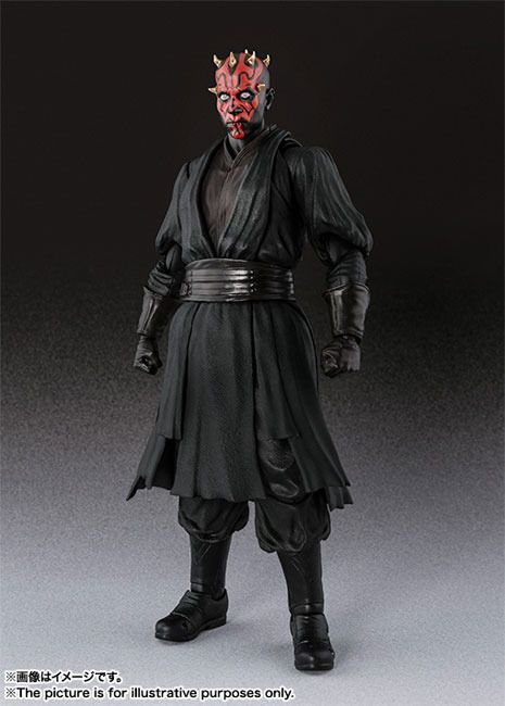 Open The Toy: S.H.Figuarts Starwars Darth Maul Coming