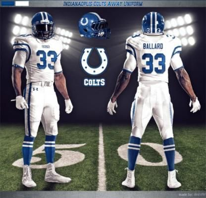 189703dc5 Indy Colts New Uniforms