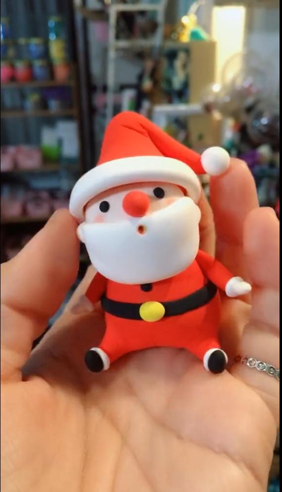 Photo of DIY Clay Santa Claus