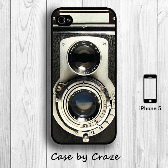 Handmade Retro iPhone 4 Case iPhone 4S Case Twin Reflex Camera Hard Case iPhone 5 Vintage Back Cover #Etsy #iphone #accessories #fashion #vintage #retro #photography #design #cool #awesome