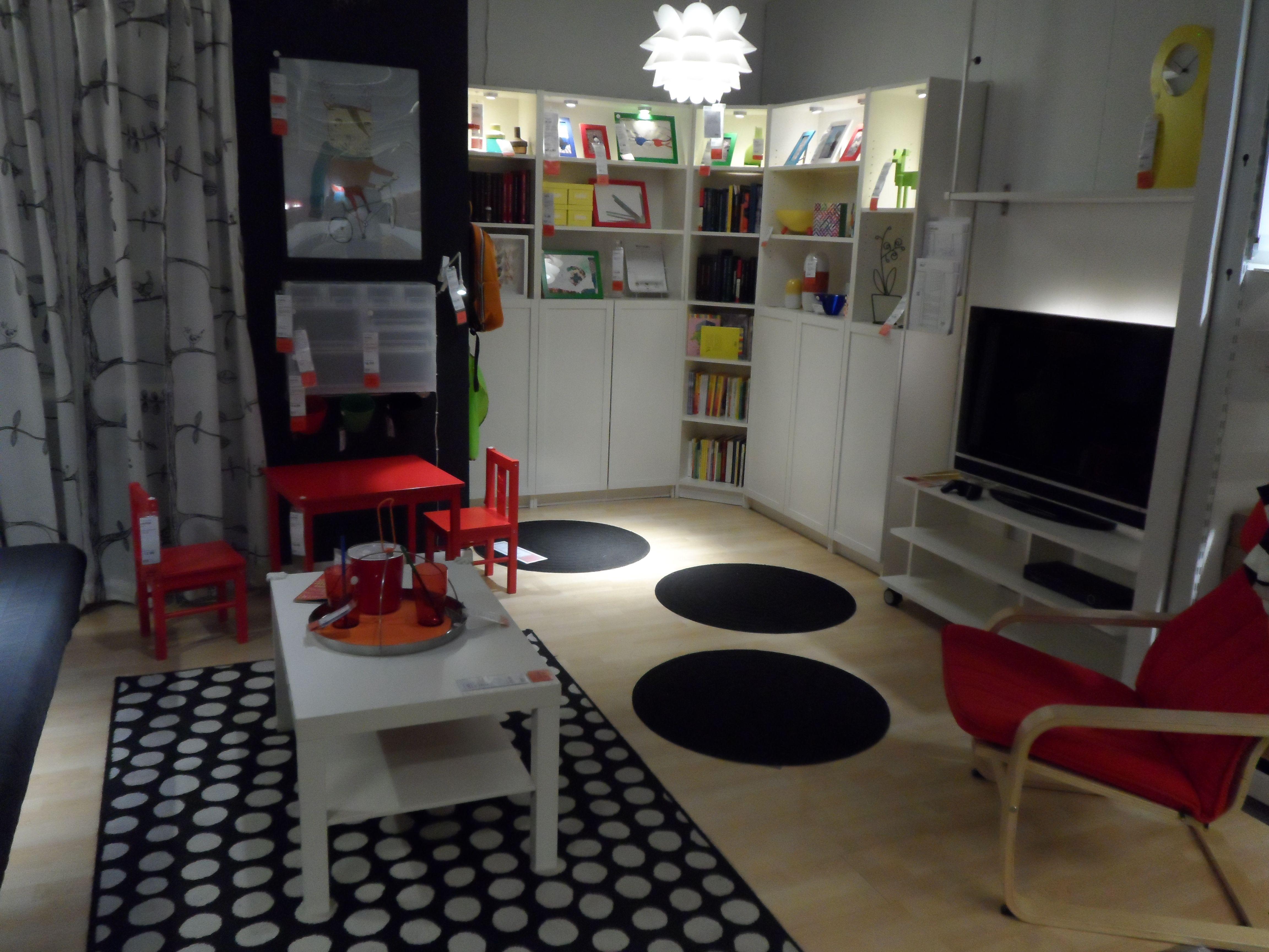 ikea showroom playroom or living family room