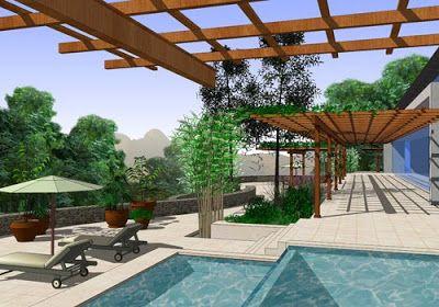 Google sketchup un programa para dise ar jardines en 3d jardiner a y paisajismo paisajismo - Programa diseno de jardines ...