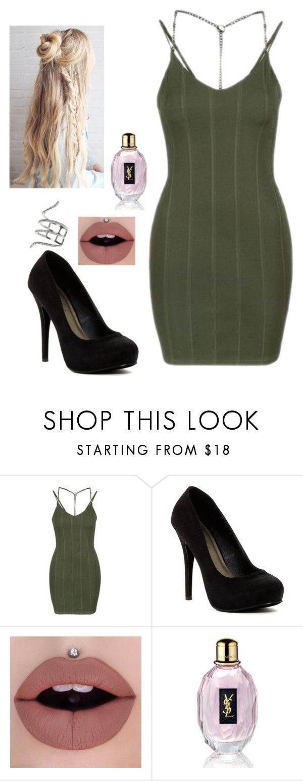 """Weekly hang out"" by cutegoth ❤ liked on Polyvore featuring Topshop, Michael Antonio, Yves Saint Laurent and New Look"