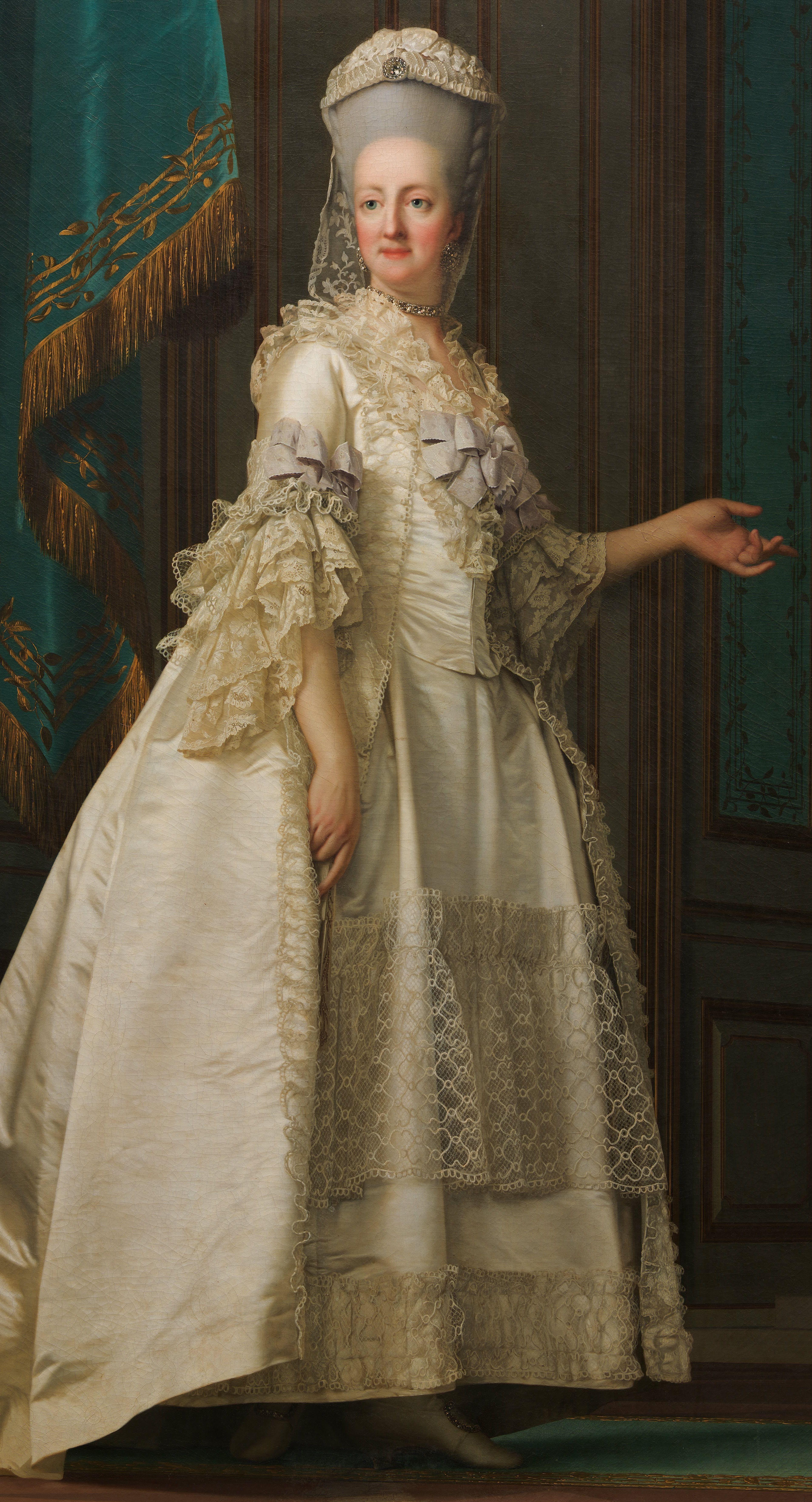 Seta a torontoi cn torony tetejen 486 - Eriksen Vigilius The Dowager Queen Juliane Marie Of Denmark 1776