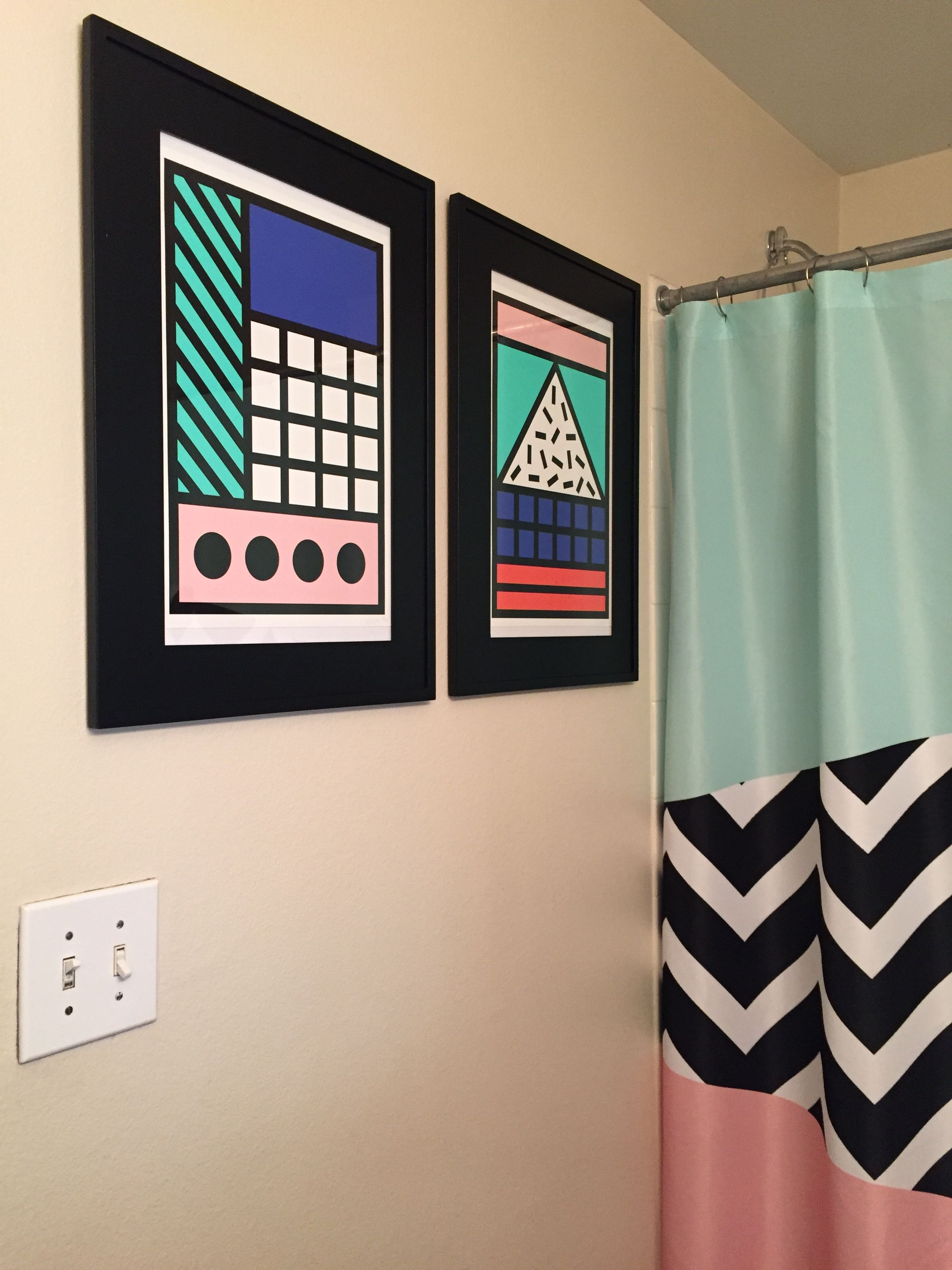 Camille Walala Original Prints With Society6 Com Memphis Style