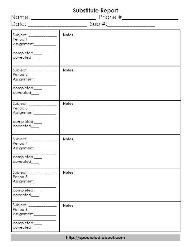 what are a substitute teacher u0026 39 s responsibilities