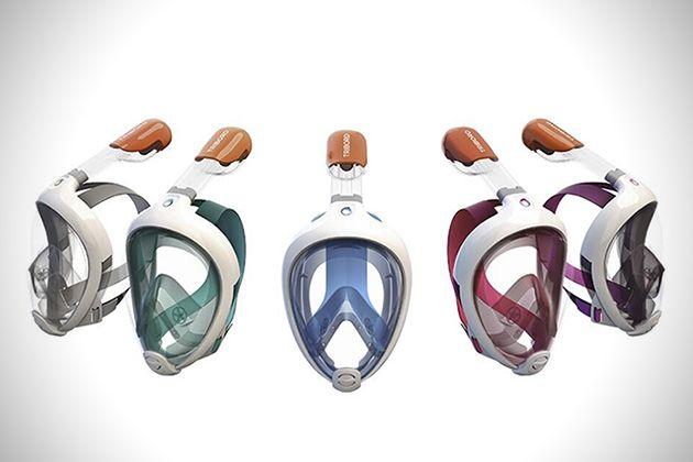 Achat/Vente prix compétitif prix modéré Le masque Easybreath permet de respirer naturellement sous l ...