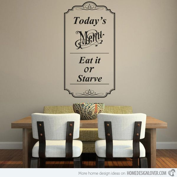Enhance Your Walls With Vinyl Impressions Wall Stickers Dining Room Walls Bless The Food Vinyl Lettering