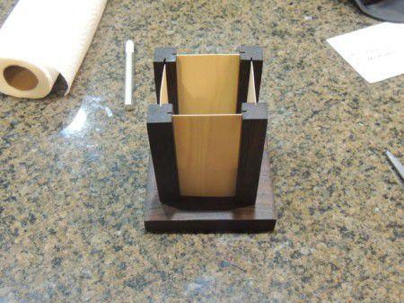 Como hacer una lámpara de madera - Lamparas Caseras