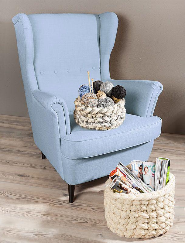 anleitung f r fingerh keln k rbe aus woll butt chunky buttinette blog h ckeln finger. Black Bedroom Furniture Sets. Home Design Ideas