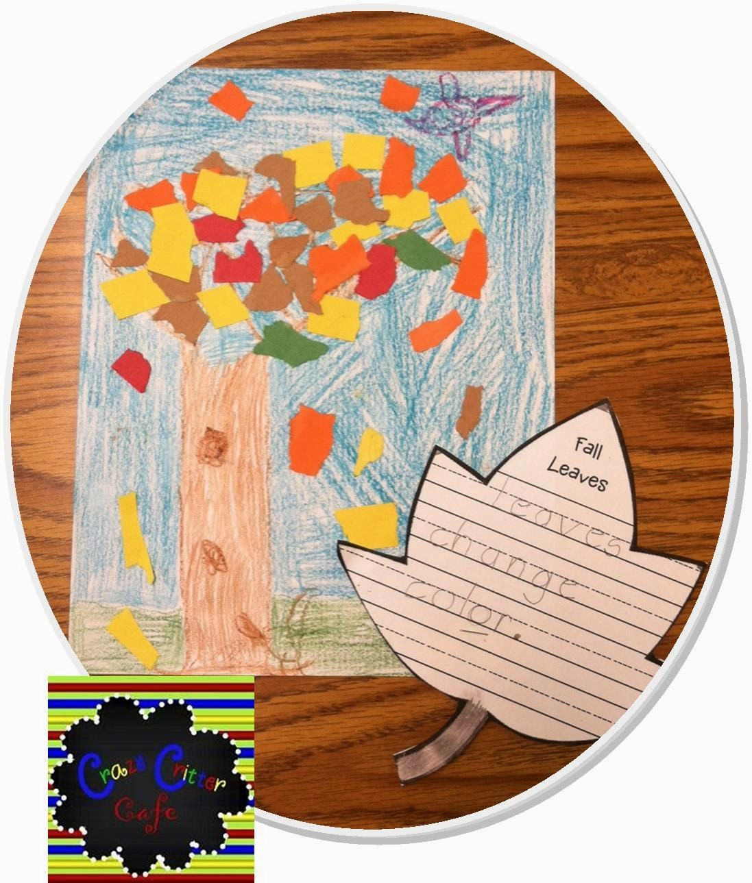 Crazy Critter Cafe : Fall Literacy and Art Fun