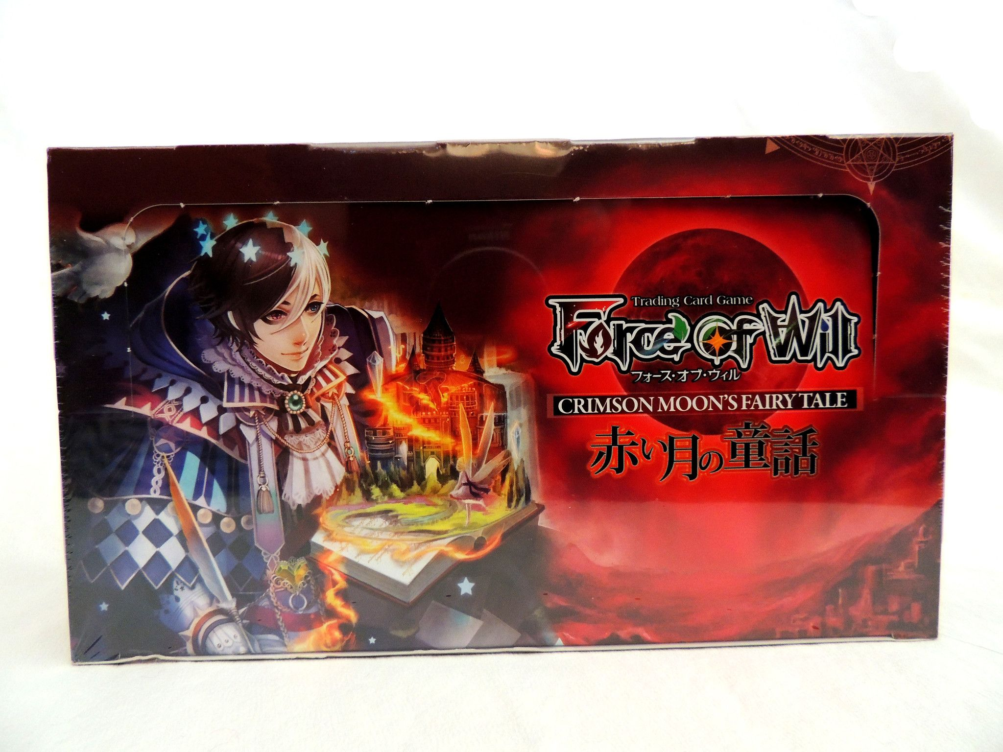 Force Of Will Booster Box Crimson Moon Fairy Tale Moon Fairy